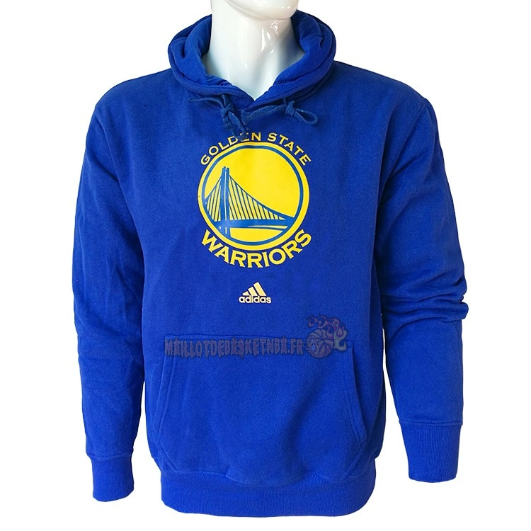 Vente Nouveau Hoodies NBA Golden State Warriors Bleu City pas cher