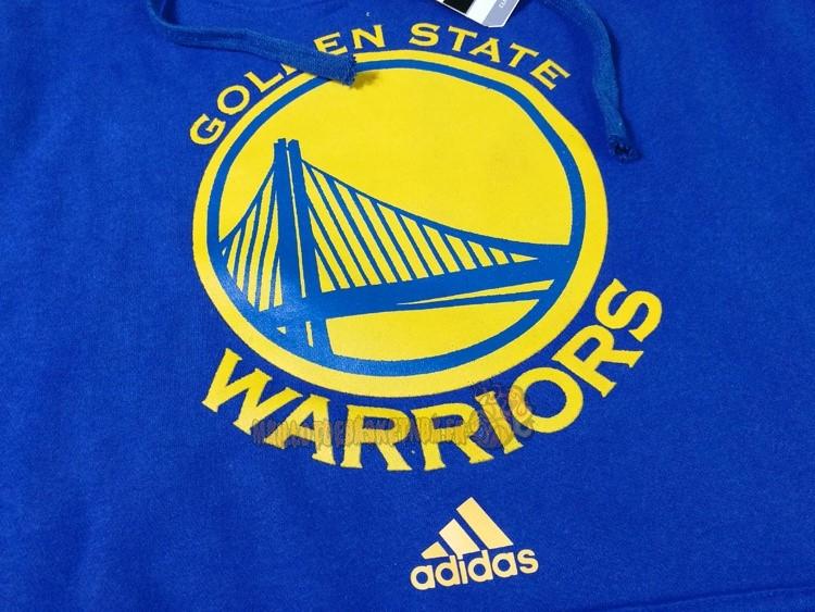 62b314117bc39 ... Vente Nouveau Hoodies NBA Golden State Warriors Bleu City pas cher ...