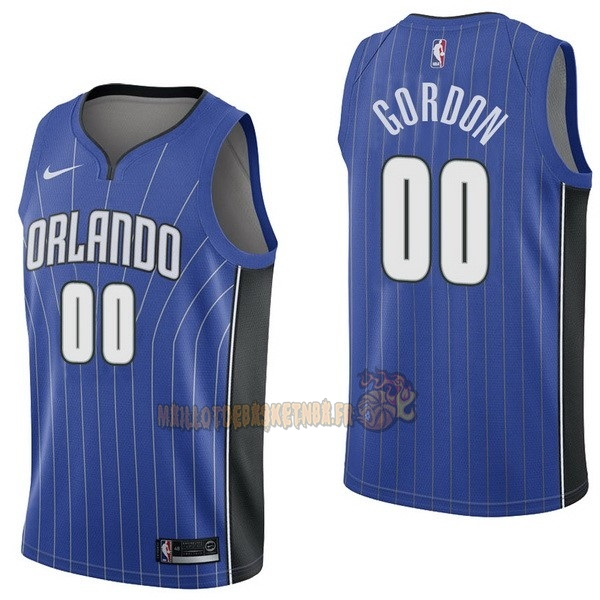 Vente Nouveau Maillot NBA Nike Orlando Magic NO.0 Aaro Gordon Bleu Icon pas cher
