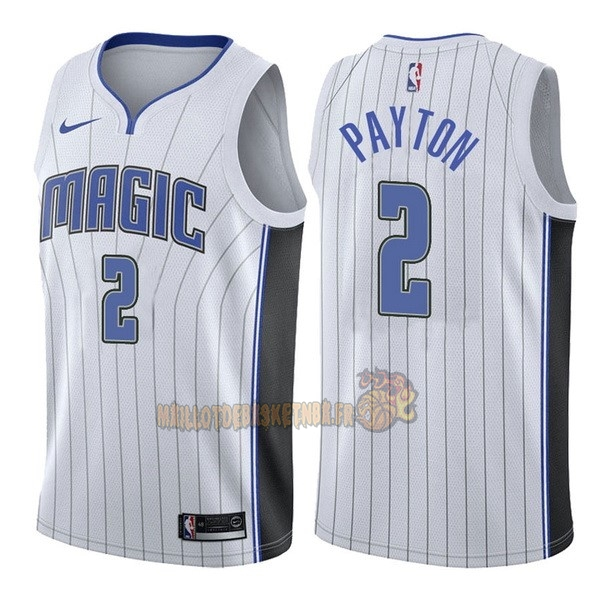 Vente Nouveau Maillot NBA Nike Orlando Magic NO.2 Elfrid Payton Blanc Association pas cher