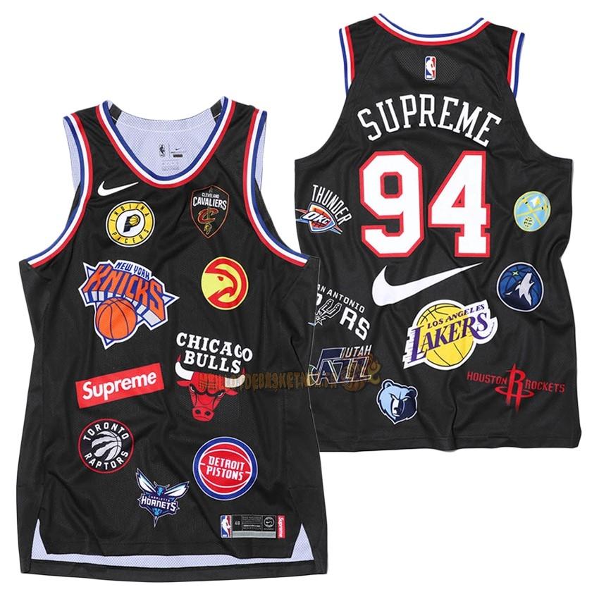NBA Store - Maillot De Basket NBA,Maillot Supreme x Nike Pas Cher.