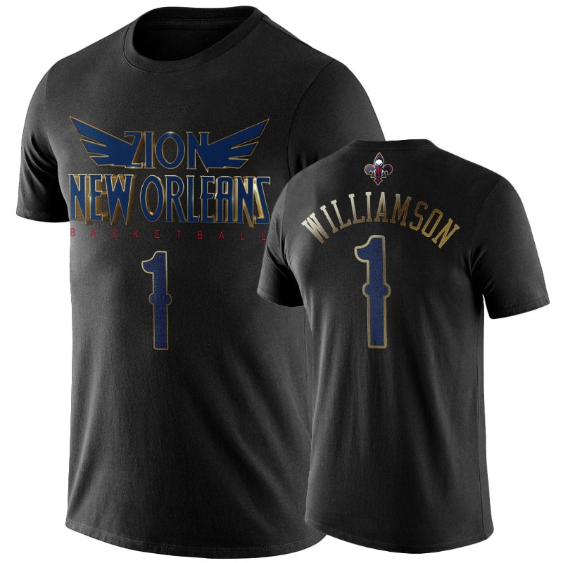 T-Shirt NBA New Orleans Pelicans Zion Williamson Noir