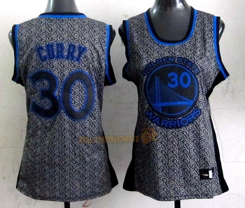 Vente Nouveau Maillot NBA Femme 2013 Static Fashion NO.30 Stephen Curry pas cher
