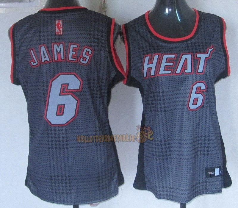 Vente Nouveau Maillot NBA Femme 2013 Static Fashion NO.6 James pas cher