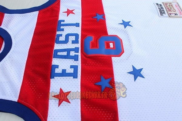 Vente Nouveau Maillot NBA 1980 All Star NO.23 Julius Winfield Erving Blanc pas cher