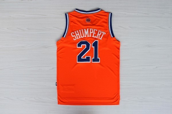 Vente Nouveau Maillot NBA New York Knicks 2012 Noël NO.21 Shumpert Orange pas cher