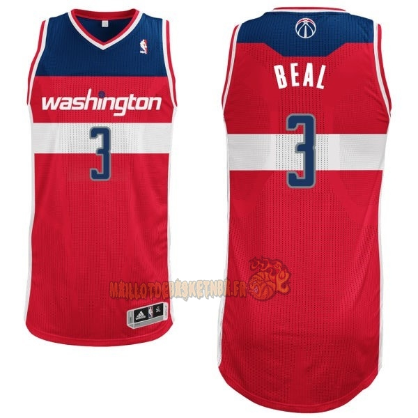Vente Nouveau Maillot NBA Washington Wizards NO.3 Bradley Beall Rouge pas cher